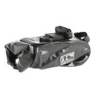Wasserdichte Fahrrad Satteltasche mit Clip-On-Halter und Aufrollverschluss