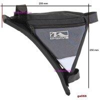 Fahrradtasche Rahmen-Dreiecktasche mit Reflex-Dreieck, Klettverschluss