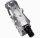 Preiswertes Standard Fahrradpedal Rennradpedal Paar, Aluminium leicht, silber