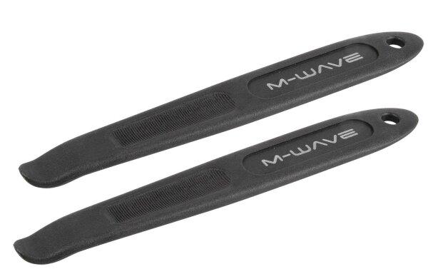 Fahrrad Reifenheber M-WAVE Reifenhebel Ausführung extra lang 200 mm 2er Set