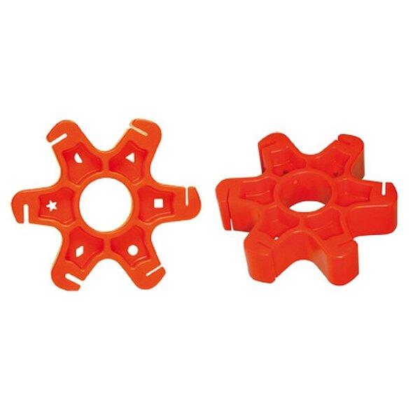 Fahrradwerkzeug Speichentool CYCLUS Gegenhalter für Aero-Speichen rot
