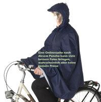 Qualitäts Fahrrad Regenponcho für Erwachsene...