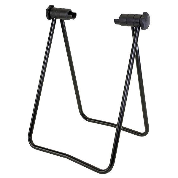 Ausstellungs- Reparaturständer schwarz, leicht,  klappbar, sichere Achsenhaltung