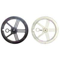 Fahrrad Kettenschutz Kettenschutzscheiben PVC 2...