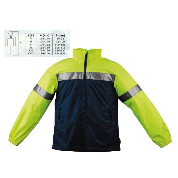 Outdoor Jacke WOWOW Größe M 100% wind/wasserdicht, atmungsaktiv