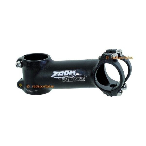 Lenkervorbau superleicht Fahrrad Ahead ZOOM  7°, 31,8 mm Klemme, Länge 110 mm