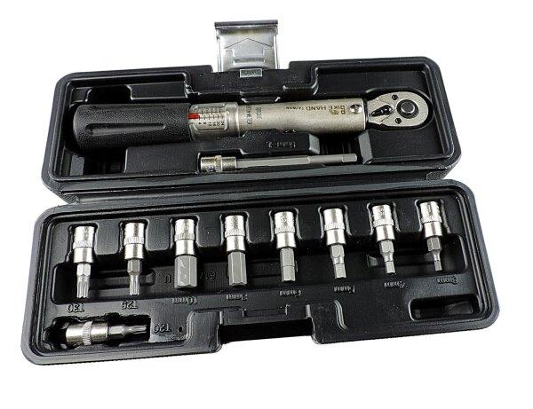 Drehmoment Schlüsselset 2 bis 24 Nm, Knarre mit Richtungswechsel YC-617-2S