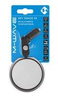 Fahrradspiegel Spy Space M-WAVE Echtglas schlagfest entspiegelt  links & rechts