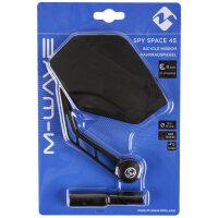 M-WAVE Spy Space 45 Fahrradspiegel E-Bike empfohlen Linksmontage 3-D verstellbar