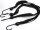 4-fach Spanngummi Gepäckband, ideal für Fahrrad Gepäcktäger,  flach 2 Stück