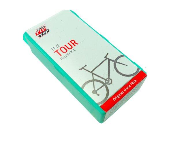 Fahrrad Flickzeug TIP-TOP TT01 Tour Schlauchreperatur Pannenset Flickenset