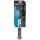 Fahrradpumpe Minipumpe Fahrrad Teleskop mit Manometer, Duokopf 8,5 bar Alukolben
