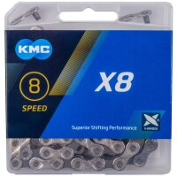 Fahrrad KMC-Kette Fahrradkette 18-24 Gang 8-fach X8  mit...