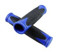 Fahrrad Lenkergriffe Zweikomponenten schwarz/blau